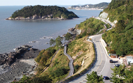 Baeksu Coastal Road